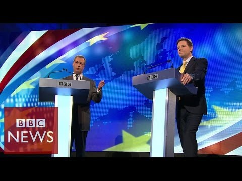 Farage vs Clegg: Row over Russia's role in Crimea – BBC News