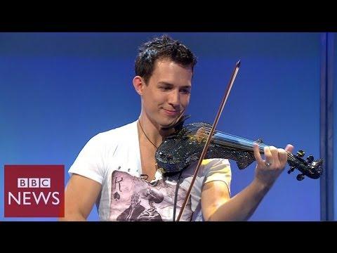 Fastest violinist in the world – BBC News