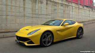 Ferrari F12 Berlinetta Cold Start and Engine Warm Up