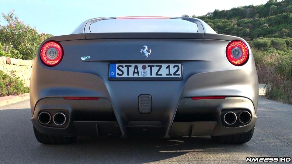 Ferrari F12 Berlinetta Start Up, Rev and Accelerate