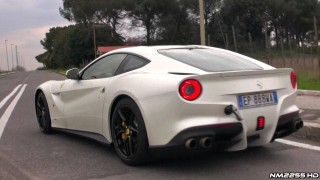Ferrari F12 Berlinetta with Capristo Exhaust Sound