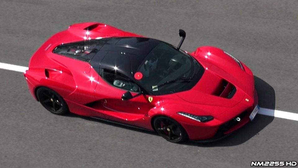 Ferrari LaFerrari Start Up and Exhaust Sound