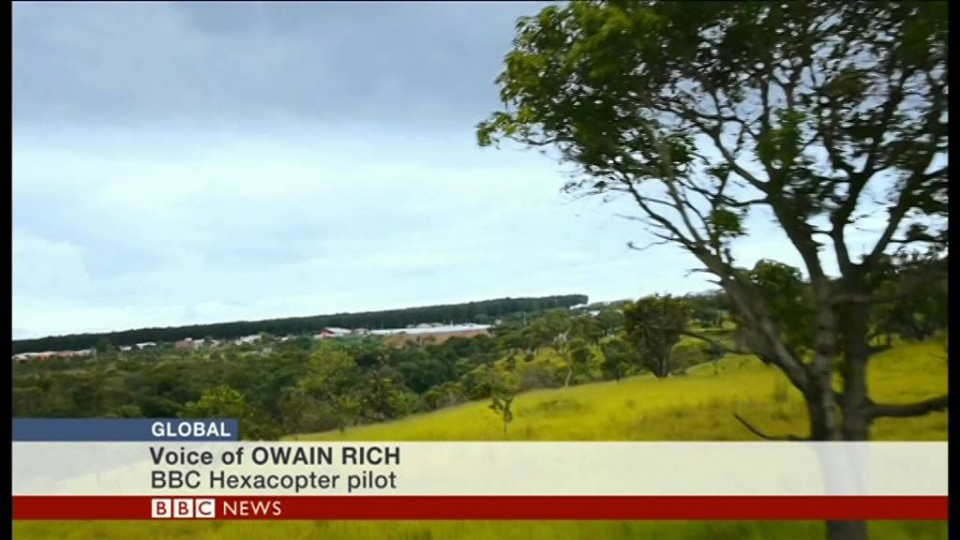 Filming with a drone camera – BBC News