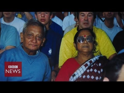 Football-mad Indian couple head to 9th World Cup – BBC News