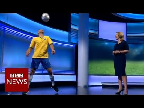 Football tricks you won't be seeing at the World Cup – BBC News
