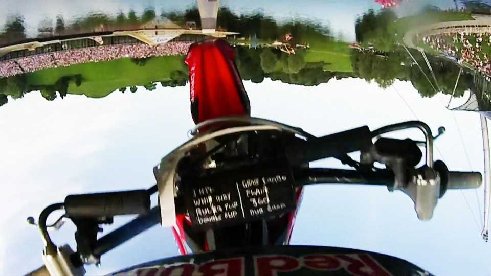 Freestyle Motocross POV from Red Bull X-Fighters Munich 2014