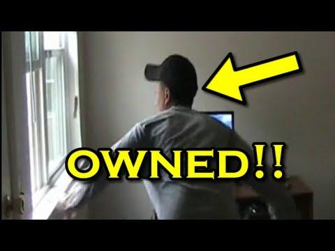 Funny Pranks : Computer Scare Prank!