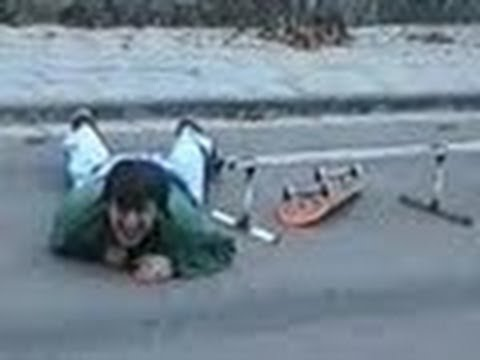 Funny Skateboarding Accident