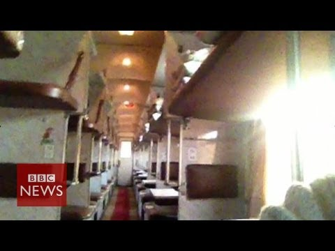 'Ghost train' from Moscow to Mariupol – BBC News