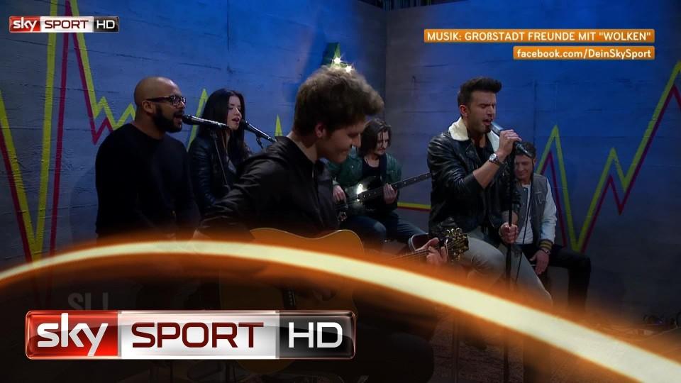 """Highlights aus Samstag LIVE!, 31. Spieltag – Großstadt Freunde mit """"Wolken"""""""