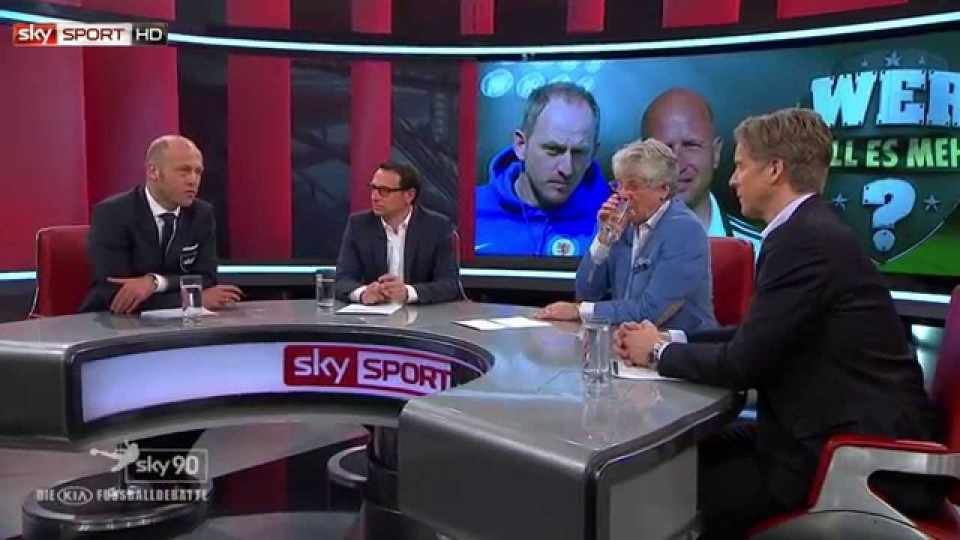 """Highlights aus Sky90 – die KIA Fußballdebatte; Fjörtoft: """"HSV und Nürnberg steigen ab"""""""