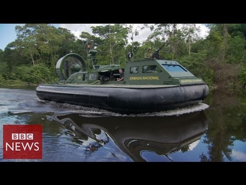 Hovercraft to fight Colombian cocaine traffickers – BBC News