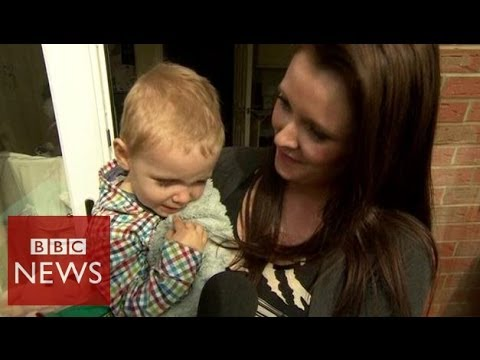 How 2 year old Riley saved his mother's life – BBC News