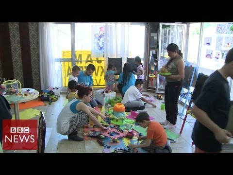 How Serbia's children are coping with floods – BBC News