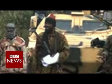 """I abducted your girls"" says Boko Haram's leader – BBC News"