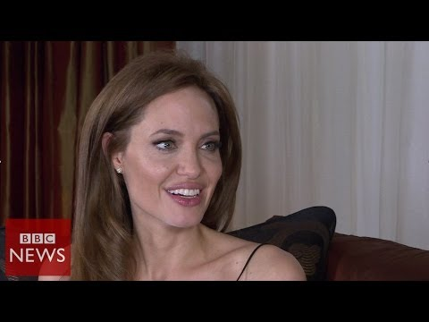 'I have a very fortunate life' Angelia Jolie – BBC News