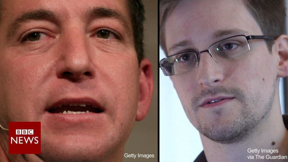 """I knew he was ready to risk his life."" Glenn Greenwald on Edward Snowden – BBC News"