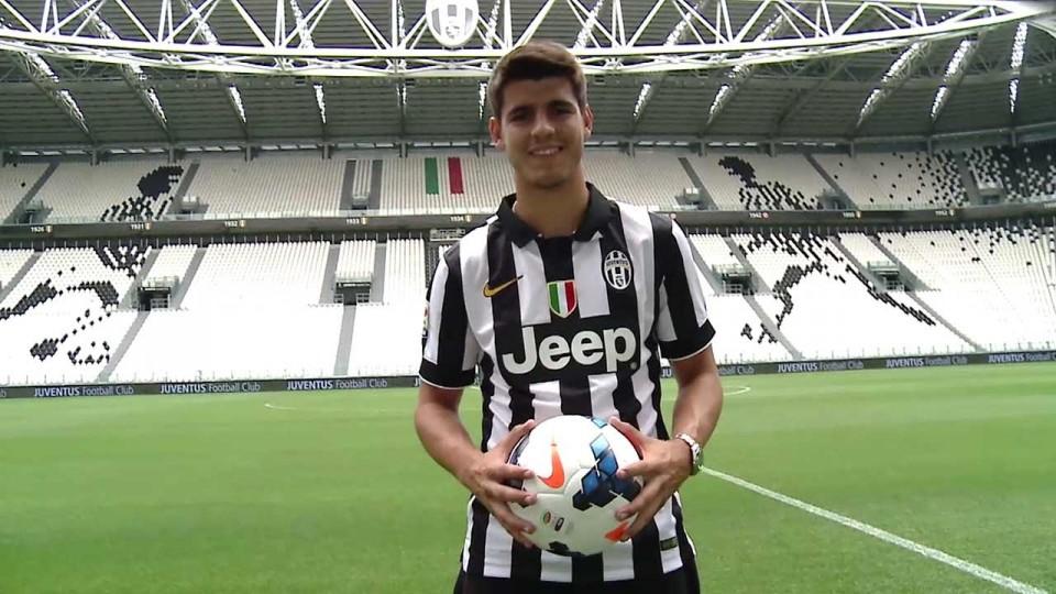 Il primo giorno di Morata alla Juventus –  #MorataDay