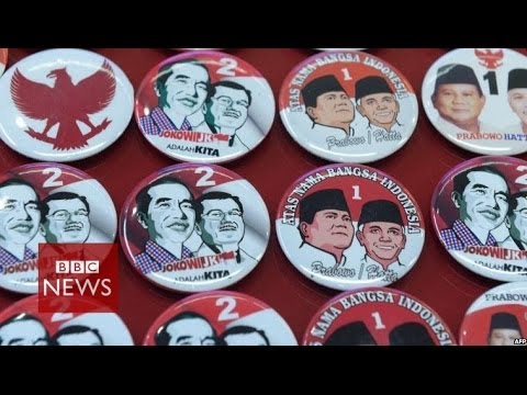 In 60 seconds: Indonesia presidential candidates – BBC News