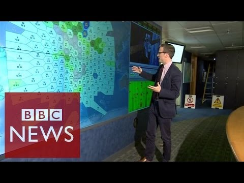 Inside Inmarsat control room that tracked MH370 – BBC News