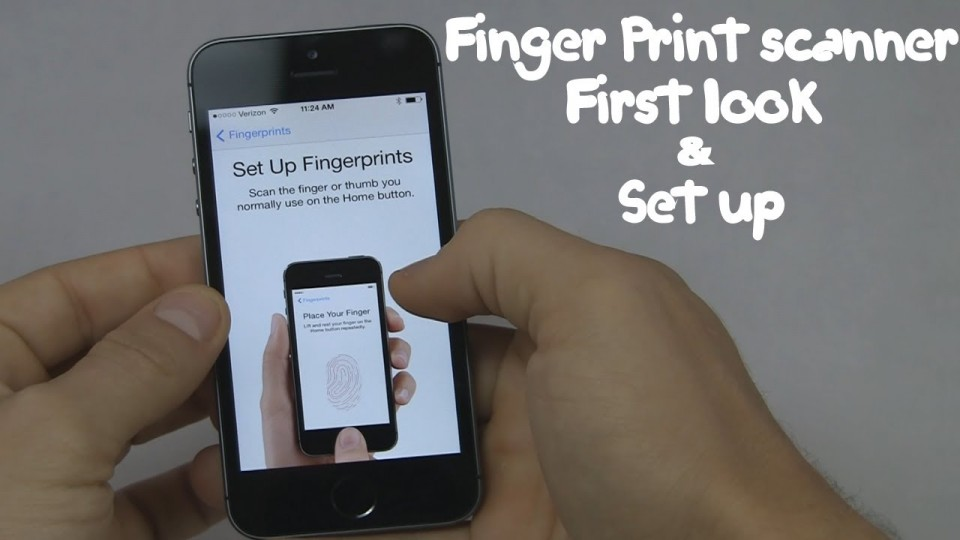 iPhone 5S Finger Print Scanner (First Look & Set up)
