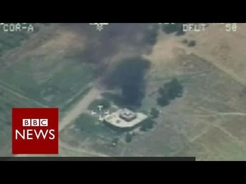 Iraq's air force bombs ISIS targets – BBC News