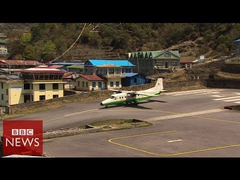 Is this the most dangerous airport in the world? BBC News