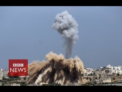 Israeli air-strikes kill 25 in Gaza & Hamas fires rockets into Israel – BBC News