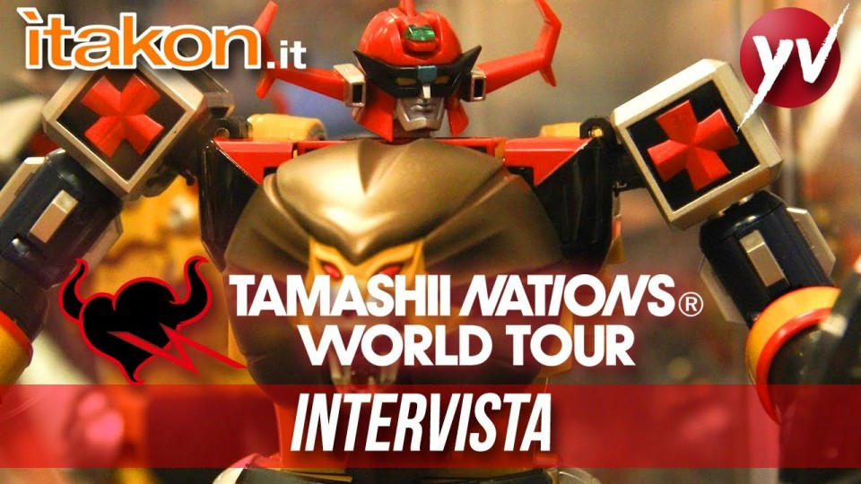 Itakon intervista Tamashii Nations @ Yamato Shop | Yamato Animation