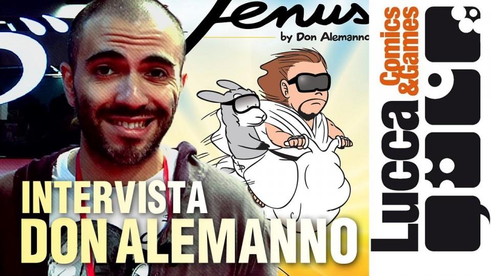 Jenus by Don Alemanno – Lucca Comics 2013