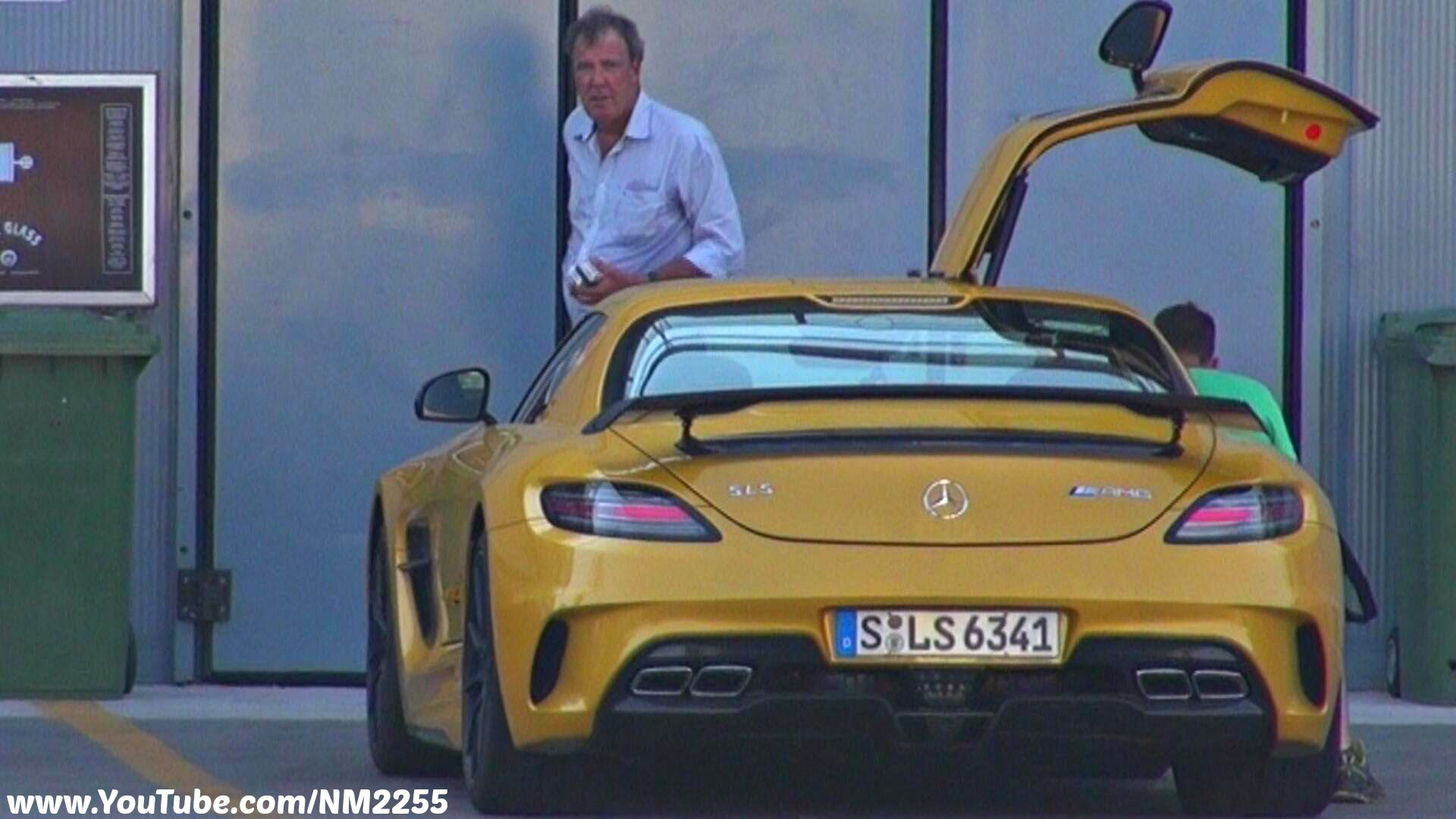 Jeremy Clarkson Cars: Jeremy Clarkson Spotted In The SLS AMG Black Series