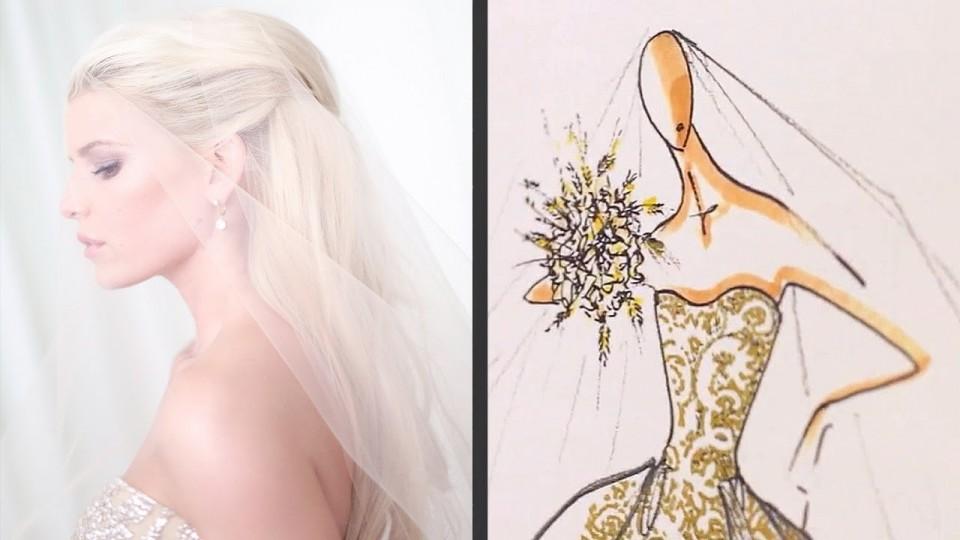 Jessica Simpson Talks Wedding Gown Inspiration with Carolina Herrera