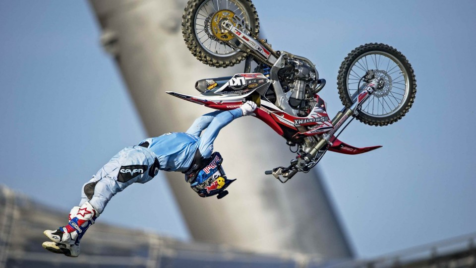 Josh Sheehan's winning run – Red Bull X-Fighters Munich 2014