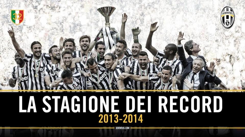 #JuveX3 – Tutti i record della Juventus stagione 2013/14