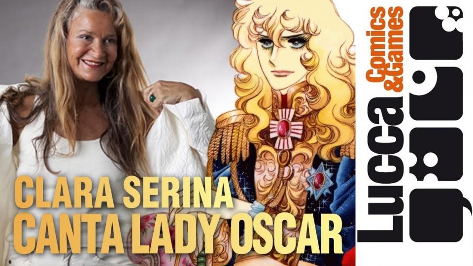 Lady Oscar sigla completa (Clara Serina a Lucca Comics 2013)