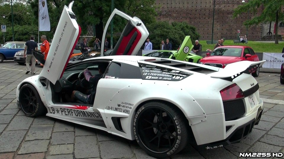 Lamborghini 50th Anniversary: Ultimate Car SOUNDS!!
