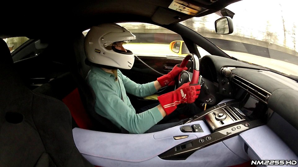 Lexus LFA Nürburgring Edition OnBoard Action on Track!