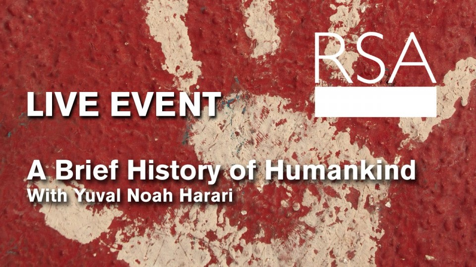 LIVE EVENT: A Brief History of Humankind