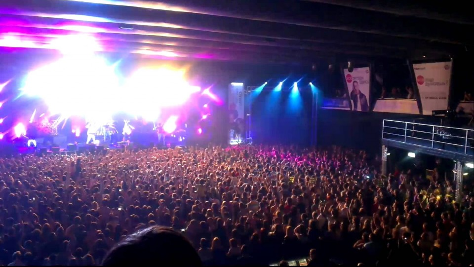 LMFAO, Arena Moscow – HTC One X video sample 1080p