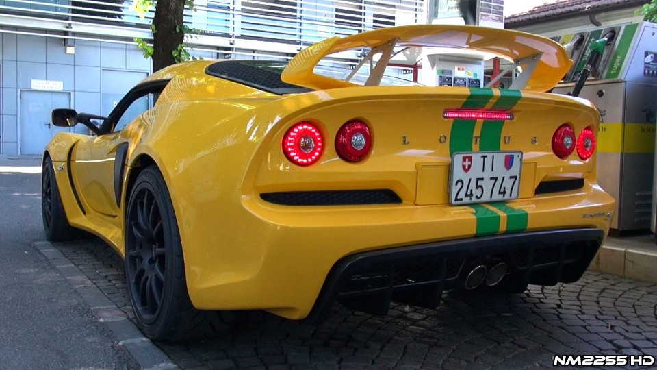 Lotus Exige S V6 with LOUD Larini Full Exhaust System