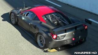 LOUD Ferrari 458 GT2 Sound on Track!
