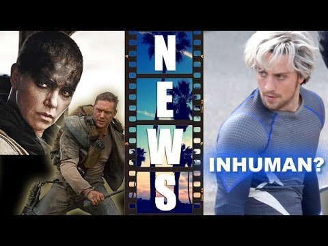 Mad Max Fury Road 2015 First Look, Quicksilver of Avengers 2 an Inhuman?! – Beyond The Trailer