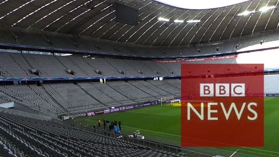 Manchester United set to take on Bayern Munich – BBC News