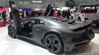 Mansory Lamborghini Aventador Carbonado – 2013 Geneva Motor Show