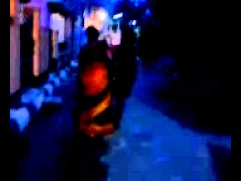 masala bhabi walking at night street