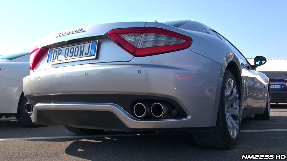Maserati GranTurismo 4.2 with Tubi Style Exhaust System
