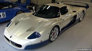 Maserati MC12 Starts and Pure Exhaust Note!