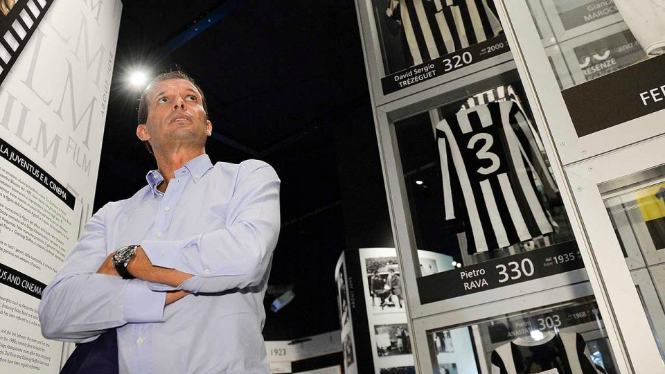 Massimiliano Allegri, il primo giorno alla Juventus – First day at Juventus