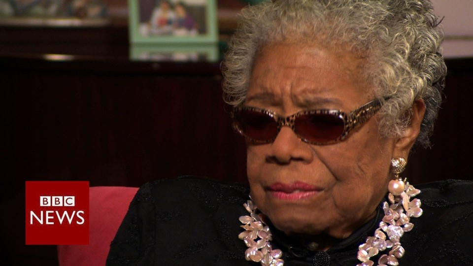 Maya Angelou: Learning to love my mother – BBC News