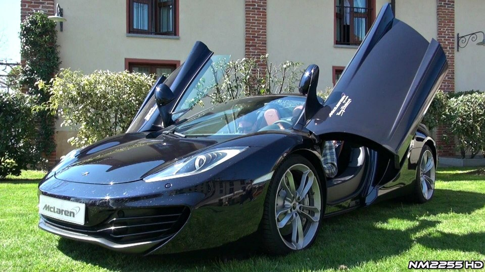 McLaren 12C Spider HUGE Revs!